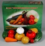 Набор муляжей овощей (большой)