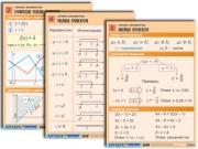"""Комплект таблиц по алгебре """"Алгебра. Неравенства"""""""
