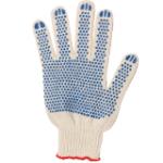 Перчатки х/б с обливной ладонью