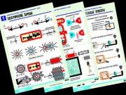 "Комплект таблиц по физике ""Электростатика. Постоянный ток"" (12 табл.,формат А1, ламинир.)"
