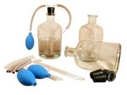 Набор склянок с дозатором для хранения растворов