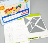 """Игровой набор """"ТАНГРАМ"""" (с комплектом карточек)"""