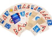 """Набор карточек """"О чем говорят дорожные знаки?"""""""