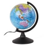 Глобус политический , диаметр 210 мм, с подсветкой