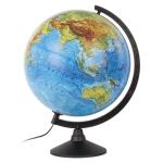 Глобус физический GLOBEN «Классик», диаметр 320 мм, с подсветкой