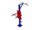 Тренажёр уличный 09 ТР.09 Турник+ брусья Размер: Размер: 1100х1550х2200