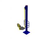 Тренажер уличный 24 ТР.24 Жим ногами Размер: 850х500х2000