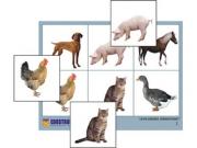 "Лото ""Домашние животные"" (4 планшета, 24 карт., цвет., ламинир.)"