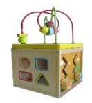 """Куб """"Развивайка"""" 17*17*17см, размер игрушки в сборе 15*15*29см"""