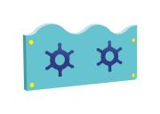 Панель декоративная для ограждения ОДП.06 Размер: 1220х400