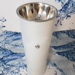 Фонтан питьевой c угольным фильтром ФПН-2К (полимер) диаметр чаши 260 мм