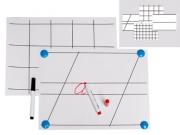 Комплект таблиц для демонстрации техники письма на линейках и в клетках