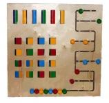 Настенный модуль «Сравнение цветов»
