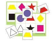 "Лото ""Цветное геометрическое"" (8 планшетов, 48 карт., цвет., ламинир.)"