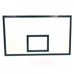 Щит баскетбольный игровой 1800*1050 фанерный  h=18 мм  на стальной раме