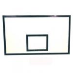 Щит баскетбольный игровой 1800*1050 фанерный  h=15 мм  на стальной раме, шт