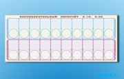 """Панно (демонстрационное) магнитно-маркерное для изучения состава числа """"Объекты, предназначенные для демонстрации последовательного пересчета от 0 до10; от 0 до 20"""" + комплект тема"""