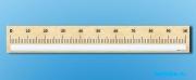 """Панно (демонстрационное) магнитно-маркерное """"Демонстрационная числовая линейка с делениями от 0 до 100"""" + комплект тематических магнитов КМ-7"""