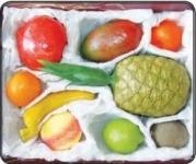 Набор муляжей тропических фруктов