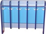 Полотеничница напольная, 5 секций(5 или 10 крючков)