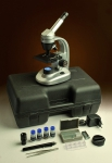 Микроскоп Levenhuk Rainbow 50L PLUS LimeЛайм