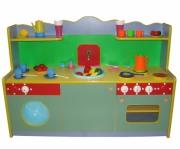 Кухня малая (сюжетно игровая мебель) (набор посуды и овощей не входят в комплект)