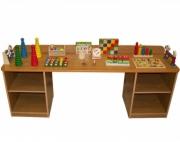 Дидактический стол без наполнения