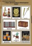 Комплект таблиц. Технология. Декоративно-прикладное творчество. Создание изделий из древесины и металлов. 16 таблиц