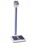Весы  ВМЭН-200-50/100-СТ-А медицинские электронные  ( питание от батареек, табло на складывающейся стойке) Максимальная нагрузка до 200 кг.
