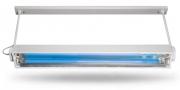 Облучатель потолочный ОБС 2х30х150 М2 с лампами  2х30 Вт