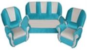 Комплект мягкой игровой мебели «Добрый Гном» (ткань Галакси). (диван - 1 шт.,        кресло - 2 шт.)