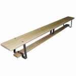 Скамейка гимнастич.деревянная на метал.ножках  L=2,4  м, шт