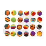 Набор набивных мячиков (24 шт. в комплекте)