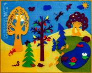 """Развивающие игры Воскобовича. Малая развивающая среда """"Фиолетовый лес"""""""