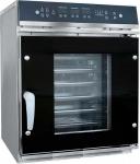 Пароконвектомат ПКА 6-1/2П верхняя панель управления (парогенератор, 6 GN 1/2, вся нерж, без гастроемкостей) черный дизайн