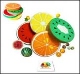 Комплект подушки-фрукты, тип 2