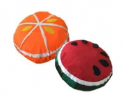 Комплект мягких развивающих подушек (половинки фруктов)