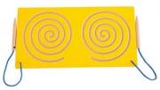 Лабиринт симметричный двойной для подготовки к письму – Улитки