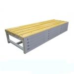 Скамья для измерения гибкости